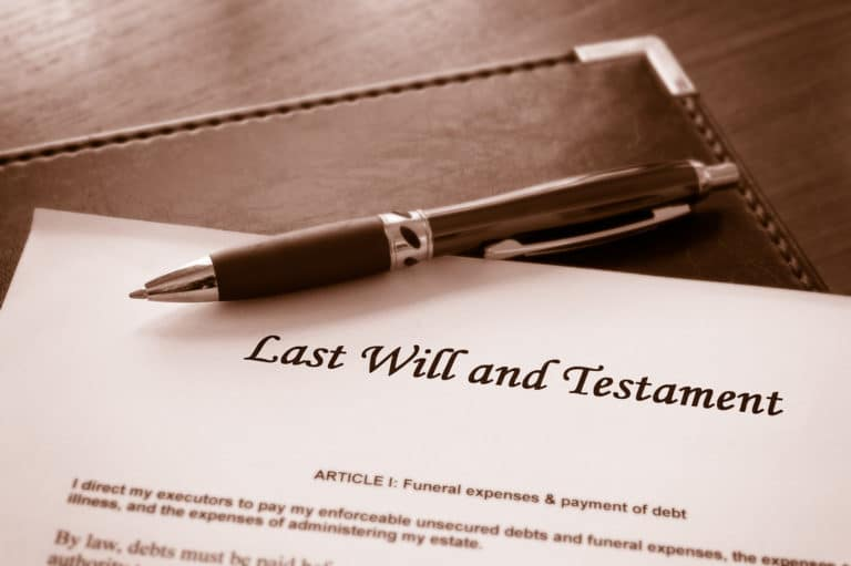 Five Reasons to Have a Will